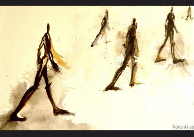 06 - Homens caminants