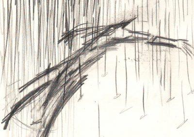 15 - Home sota la pluja